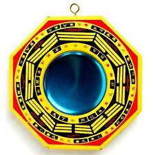 "New Chinese Concave Bagua Mirror Feng Shui Pa Kua Lucky Talisman Chi Energy 4"" i"