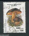MADAGASCAR 1990, timbre MI 1292, CHAMPIGNON BOLETUS, oblitéré