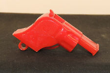 Renwal Red Whistle no.45 Gun Shape over 1 inch  (5869)