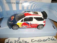 CITROEN  DS3 WRC 2011 N°1 CHAMPIONE DU MONDE 1/43°  AVEC S LOEB TOTAL RED BULL