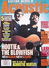 Guitar World Acoustic Magazine #17 Hootie & The Blowfish 5 Songs! NEW!