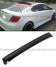 FOR 2004-2010 SCION tC ANT10 1ST GEN SMOKE TINTED REAR ROOF AERO WINDOW VISOR