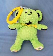 Daphyl's Grateful Dead Interactive Plush Dancing Bear W/Hanging Clip - Green