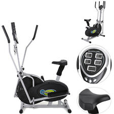 New Elliptical Bike Exercise Machine 2 IN 1 Cross Trainer Fitness Upgraded Model