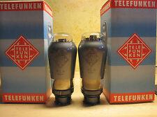 # MATCHED PAIR # AL 4 TELEFUNKEN # <> #TUBE # CINEMA #TEATHER #AMPLIFIER #1940