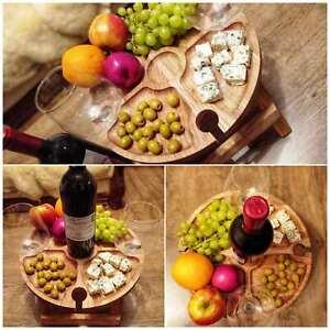 Oak Wine table folding table