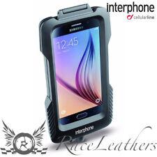INTERPHONE GALAXY S6 EDGE SUPPORT TÉLÉPHONE PORTABLE POUR NON-TUBULAIRE GUIDON
