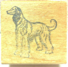 Rubber Stamps - Afghan Hound Dog Crafs