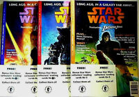 Star Wars Magazine UK Dark Horse 1-3 Edition Set new 1992 Amricons