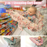 Potable Unisex Germ-Free Baby High Chair Seat Cover Shopping Cart Protector