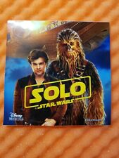 Disney Movie Club Dmc Exclusive Solo A Star Wars Story Decal St 00006000 icker