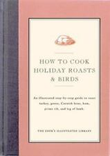How to Cook Holiday Roasts & Birds-ExLibrary
