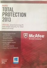 McAfee Antivirus/Internet Security TOTAL PRO 2013 for Windows