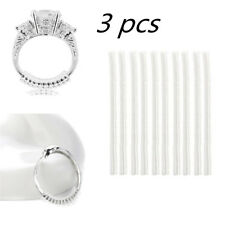3 Pcs Ring size reducers Spiral Invisible Snugs Guard RESIZER ADJUSTERS TOOLS IW