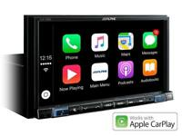 ALPINE iLX-702D Monitor WVGA Apple CarPlay e Android Auto