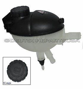 Mercedes 2045000549 Coolant Reservoir Overflow Expansion Tank + Cap + Sensor SET