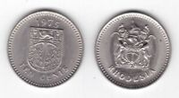 RHODESIA - 10 CENTS aUNC-UNC COIN 1975 YEAR KM#14