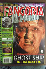 FANGORIA #217 Oct 02 / signed by editor / Peter Jackson /RING/ RED DRAGON +bonus