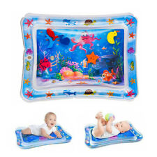 Inflatable Water Playmat Infants Fun Tummy Time Baby Toddlers Activity Pad
