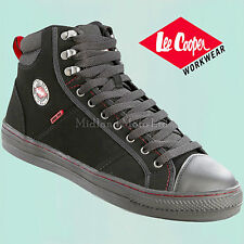 Lee Cooper Steel Toe Cap Baseball Style Safety BootsTrainers Shoes Sneaker Lc022 UK 3 EU 36