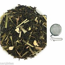 Ginger Lemon Green Tea Loose Leaf Herbal Healthy Chai With FREE INFUSER # FL 12