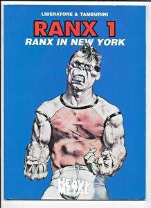Ranx In New York #1 Liberatore Tamburini 1996 Heavy Metal SC 44pp FN 1882931300