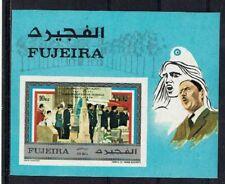 FUJEIRA-1971-CH DE GAULLE-1 bloc neuf NON dentelé