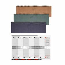 BRUNNEN Querterminbuch 2021 33x10cm sortiert mit Register 1077701951 -