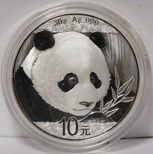 2018 China Chinese Silver Panda 30 g .999 Silver 10 Yuan Coin - JX981