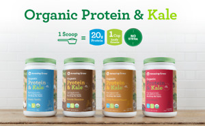 Amazing Grass Vegan Organic Protein & Kale Powder