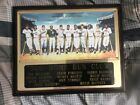 Mickey Mantle,Ted Willams and more 500 Homerun Hitters Club Plaque