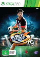 Xbox 360 NRL Rugby League Live 3 NZ New Zealand Cover Shaun Johnson