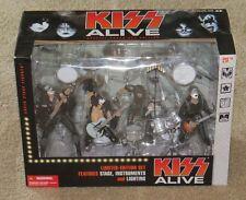 KISS ALIVE MCFARLANE BOX SET SEALED