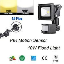 10W LED Garden PIR Motion Sensor  Security Outdoor IP65 Carpark Flood Light