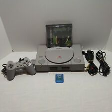 Sony PlayStation1 Video Game Gray Console (Scph-7001) Bundle Syphonfilter