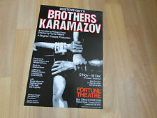 Dostoyevsky's BROTHERS Karamazov New Play FORTUNE Theatre Original Poster