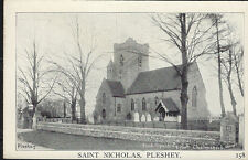 PLESHEY( Essex):  Saint Nicholas  Church  - SPALDING 1158