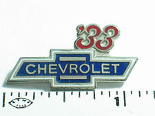 1933 Chevrolet Pin , Chevy GM Auto Pin , Lapel  pin , Hat Tack , (**)