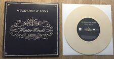 "MUMFORD AND SONS - Winter Winds 7"" LIMITED BEIGE VINYL"
