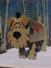Fox Terrier Dog Mailbox Terriers Custom Mailboxes Dogs Postal Mail Box Pet