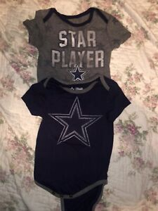 Dallas Cowboys Baby Bodysuit Size 12 Months