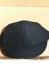 Baseball/Softball Black umpire snap back plate hat NEW by V Sport