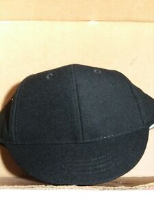 Baseball/Softball Black umpire snap back plate hat NEW by V Sport