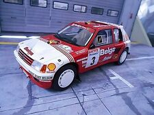 PEUGEOT 205 T16 Rallye Gr.B Ypres Belga Darniche 1985 Ypern RAR Resin otto 1:18