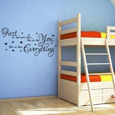 First We Had Each Other Quote Decal Wall Sticker Art Decor Baby Nursery Sq1032