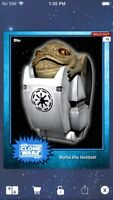Topps Star Wars Digital Card Trader Blue Steel Rotta Base 4 Variant