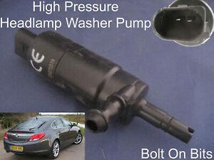 Headlamp/Headlight Washer Spray Cleaning Pump Vauxhall Insignia SRi Elite VXR