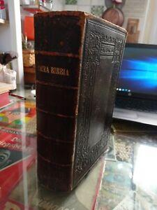 LA SACRA BIBBIA GIOVANNI DIODATI 1864 biblica britannica - HOLY BIBLE