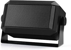 "Radioddity CB Radio Mini External Speaker, 71"" Power Cable for Midland,Icom"
