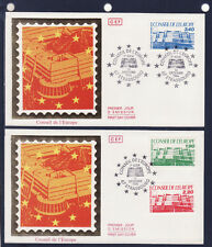 enveloppe 1er jour   conseil de l' Europe  Strasbourg       1986
